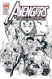 Avengers The Children's Crusade #1 Cheung Retail Sketch Variant 1:100 (2010) Marvel comic book